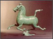 Flying Sculptures - Flying Horse of Gansu    by Allen Mautz
