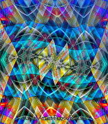 Kites Digital Art - Flying Kites by Visual Artist  Frank Bonilla