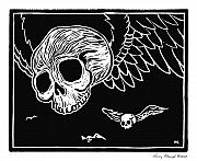 Goth Originals - Flying Skulls by Henry Krauzyk