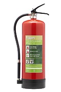 Labelling Posters - Foam Fire Extinguisher Poster by Mark Sykes