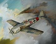 Luftwaffe Digital Art - Focke Wulf FW-190 by Stuart Swartz