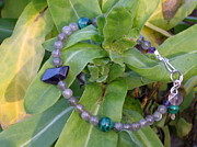 Sterling Silver Bracelet Art - Focus Your Mind. by Naomi Mountainspring