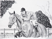Dressage Horse Originals - Focused by Joette Snyder