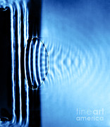 Focusing Metal Prints - Focusing Water Waves Metal Print by Berenice Abbott