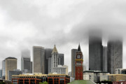 American City Originals - Fog accents of Seattle WA by Christine Till