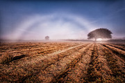 Tin Framed Prints - Fog bow Framed Print by John Farnan