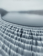 Waterfall Photography Posters - Fog On Croton River Poster by Jack Wassell Photography