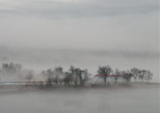 Susquehanna River Photos - Fogged In by Lori Deiter