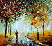Leonid Afremov - Foggy Day
