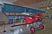 Museo Del Ejercito Del Aire Prints - Fokker Dr 1 Print by Miguel Diaz
