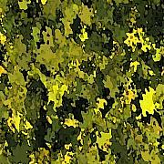 Abstract.trees Art - Foliage by Hema Rana