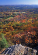 Connecticut Prints - Foliage View Appalachian Trail Connecticut Print by John Burk
