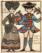 Folk Art: Washingtons Print by Granger