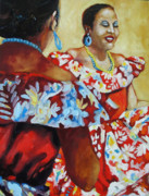 Folklorica II Print by Monica Linville