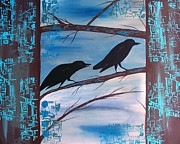 Crow Medicine Prints - Follow me to the Secret Garden Print by Jean Fry