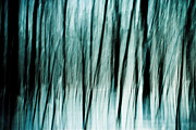 Snow Abstract Prints - Follow the Light Print by Gert Lavsen