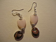 Silver Earrings Jewelry - Follow Your Heart Sweet Pink Earrings by Jenna Green