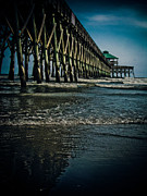 Folly Beach Pier Print by Jessica Brawley