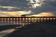Bonnes Eyes Fine Art Photography Prints - Folly Pier Sunset Print by Bonnes Eyes Fine Art Photography