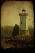 Joel Witmeyer Prints - Fond Du Lac Lighthouse Print by Joel Witmeyer