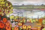 Puget Sound Art - Fond Memories by Jennifer Lommers