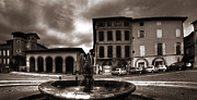 South West France Metal Prints - Fontaine du Griffoul Gaillac  Metal Print by Ed Gold