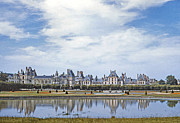 Fontainebleau Framed Prints - Fontainebleau Palace  Framed Print by Chuck Staley