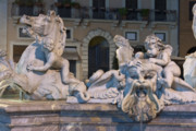 Struggling Photos - Fontana del Nettuno II by Fabrizio Ruggeri