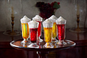 Whipped Cream Framed Prints - Food - Sweet - Lets parfait all night  Framed Print by Mike Savad