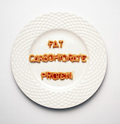 Spaghetti Prints - Food Groups Print by Victor De Schwanberg