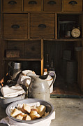 Alarm Clock Photos - Food in a Chuck Wagon by Jeremy Woodhouse