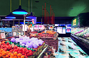 Grocery Store Digital Art - Food Store by Hans Kaiser