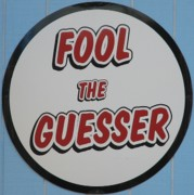 Laugh Art - Fool The Guesser by Kelly Mezzapelle