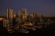 Vancouver Photo Originals - Foot Of Howe Street Vancouver Bc by Lawrence Christopher