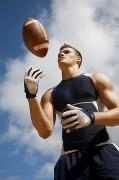 Throw Photo Prints - Football Athlete I Print by Kicka Witte - Printscapes