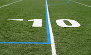 Turf Art - Football Field Ten by Henrik Lehnerer