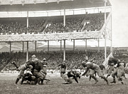 Polo Grounds Prints - Football Game, 1916 Print by Granger