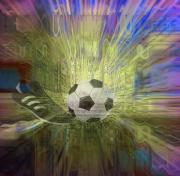 Football Mixed Media - Football is My Name - Worldwide by Fania Simon