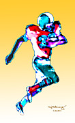 The MUSEUM Artist Series jGibney - Football Runner jGibney...