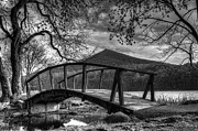 Abbott  Photos - Footbridge Peaks of Otter - Virginia by Steve Hurt