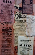 Slavery Digital Art Metal Prints - Footnotes to History  Metal Print by  Andy Tate