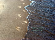 Todd Heckert - Footprint in the Sand