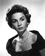1955 Movies Photos - Footsteps In The Fog, Jean Simmons, 1955 by Everett