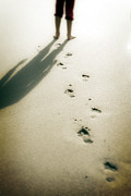 Footprints Photo Prints - Footsteps Print by Joana Kruse