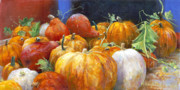 Pumpkins Paintings - For A Thousand by Willis Miller