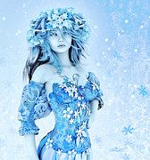 Elf Digital Art - For All Winter Friends by Jutta Maria Pusl