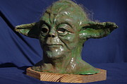 Star Wars Sculptures - For Elliot by Rick Ahlvers