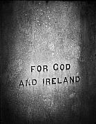 Political Statement Prints - For God and Ireland Macroom Ireland Print by Teresa Mucha