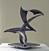 Steel Sculpture Sculptures - For Martha Graham by John Neumann