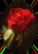 Red Rose Digital Art - For my love by Alexandra Mallory